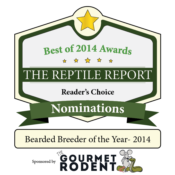bearded dragon breeders of the year